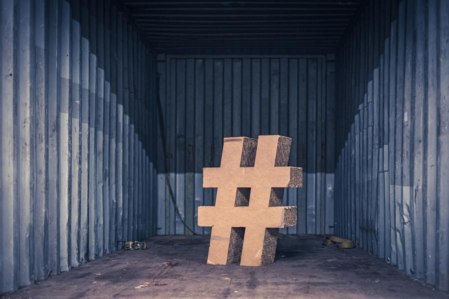 Socially - Facebook hashtag